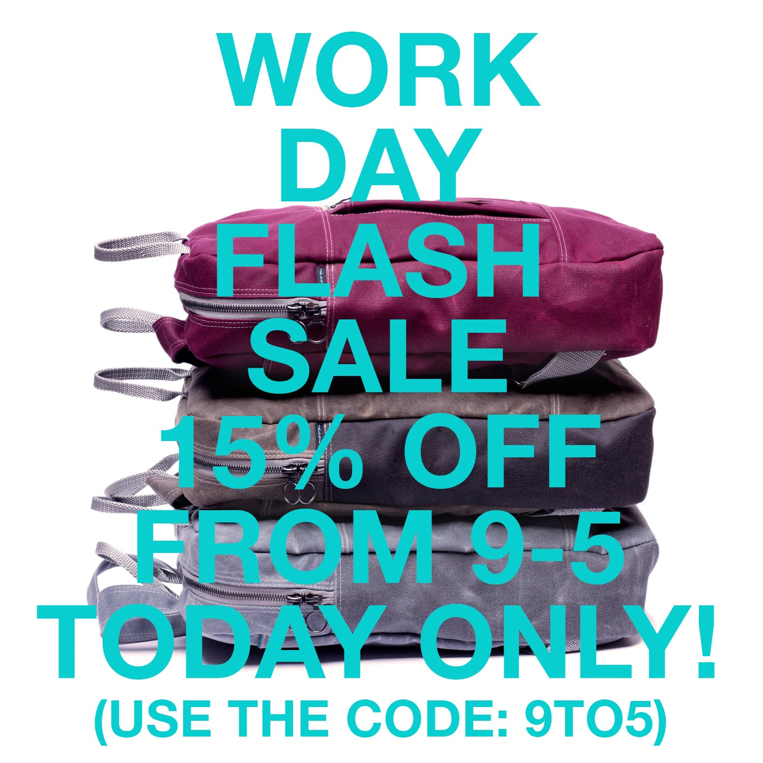 flash sale, today only!
