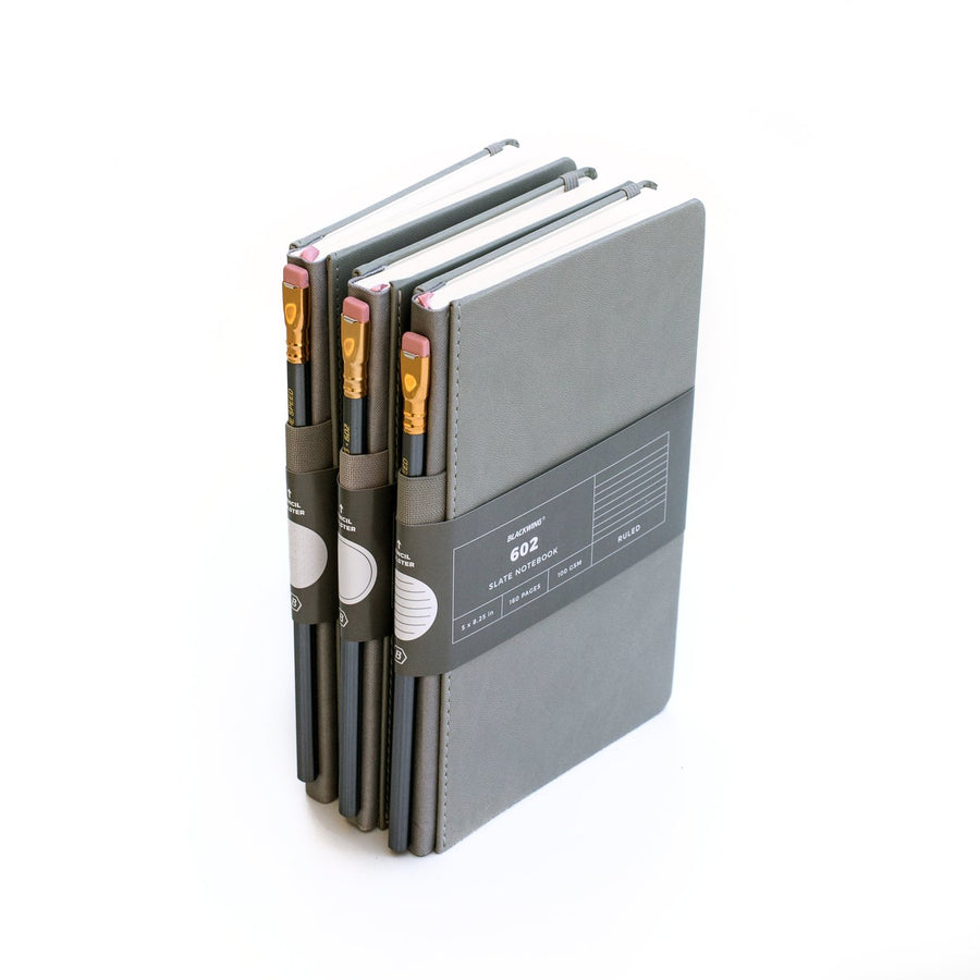 Palomino Blackwing Notebook Set - slate gray