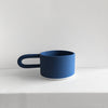 Coffee Mug in matte cobalt