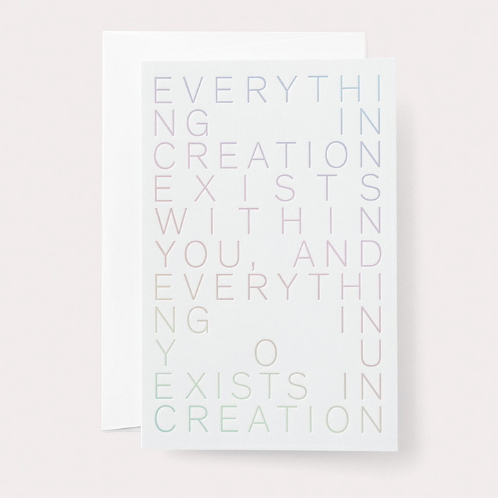 CARD: Creation