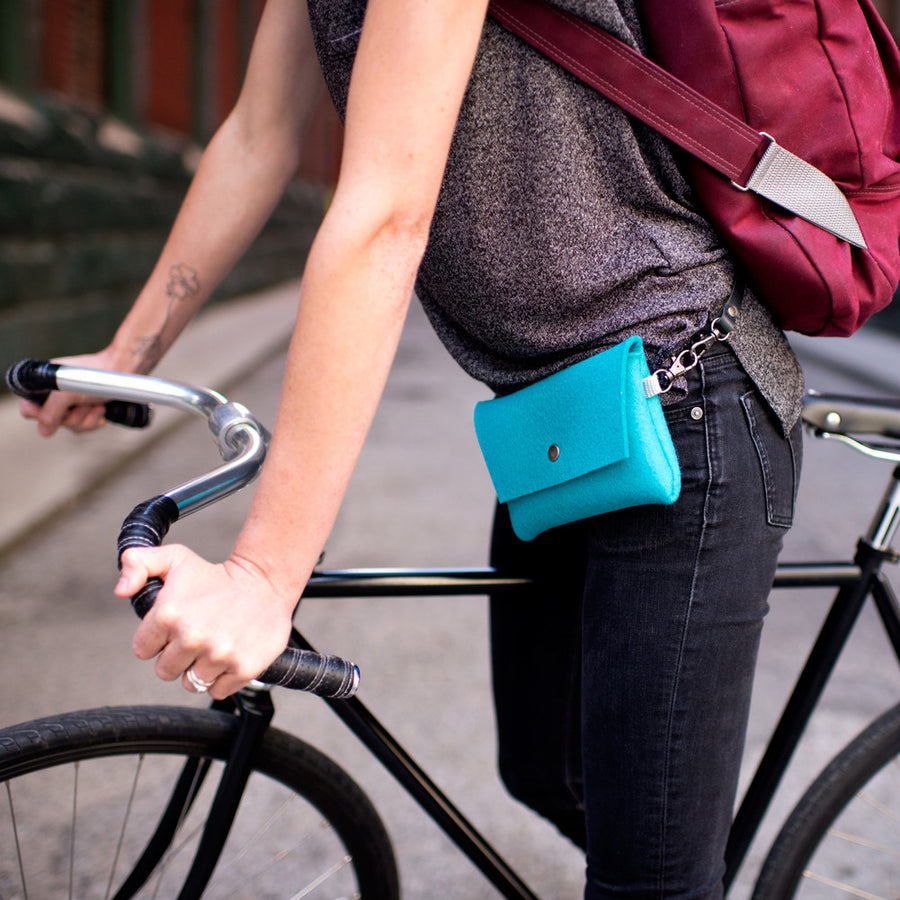 Tiny Clutch - Turquoise