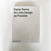 BOOK: Dieter Rams: As Little Design As Possible