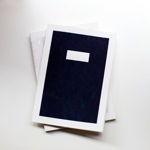 Hanji Notebook - Dark Navy