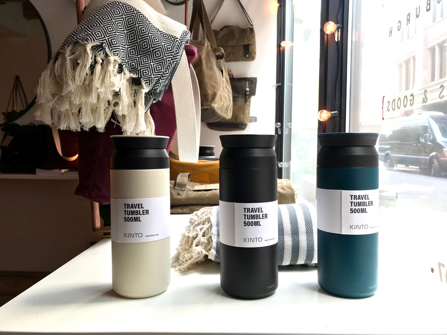 Kinto Coffee / Water Thermos - cream