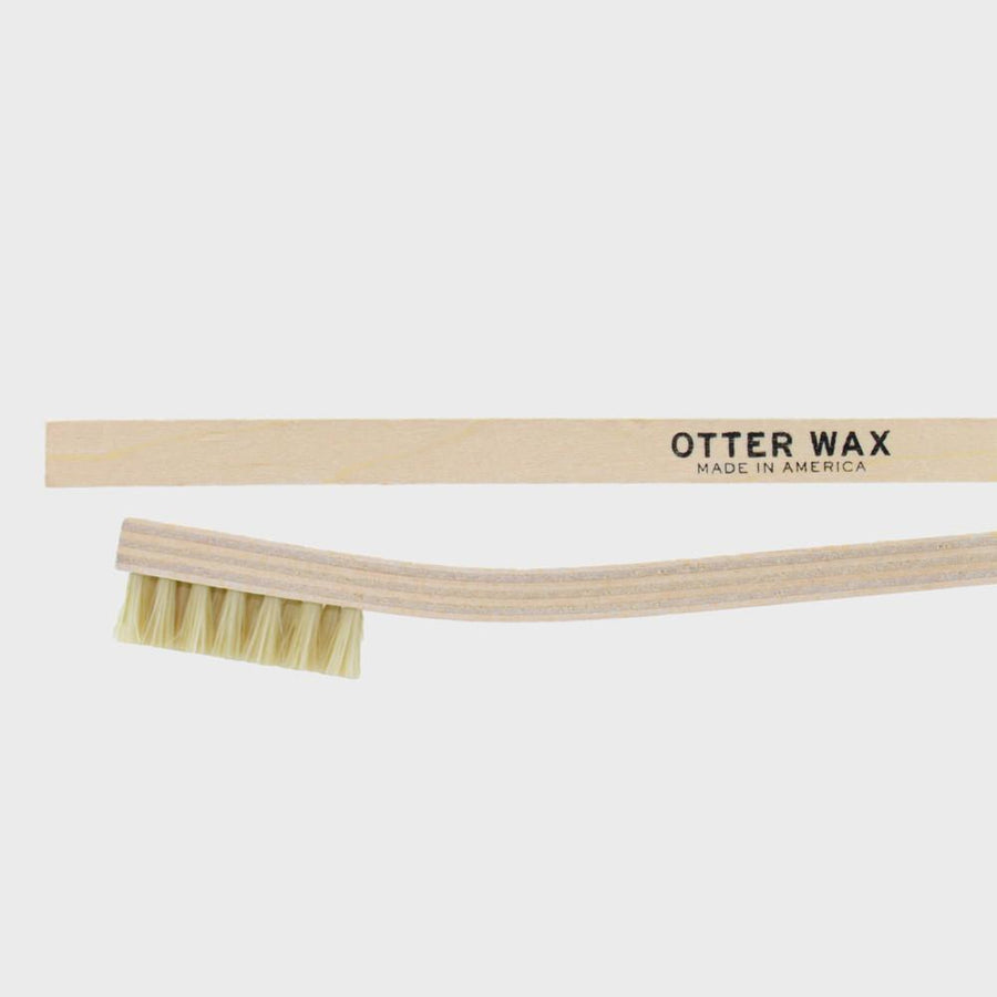 Otter Wax Canvas Cleaner + cleaning brush