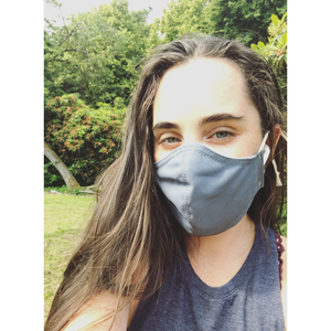 Face Mask V.4 - cornflower blue