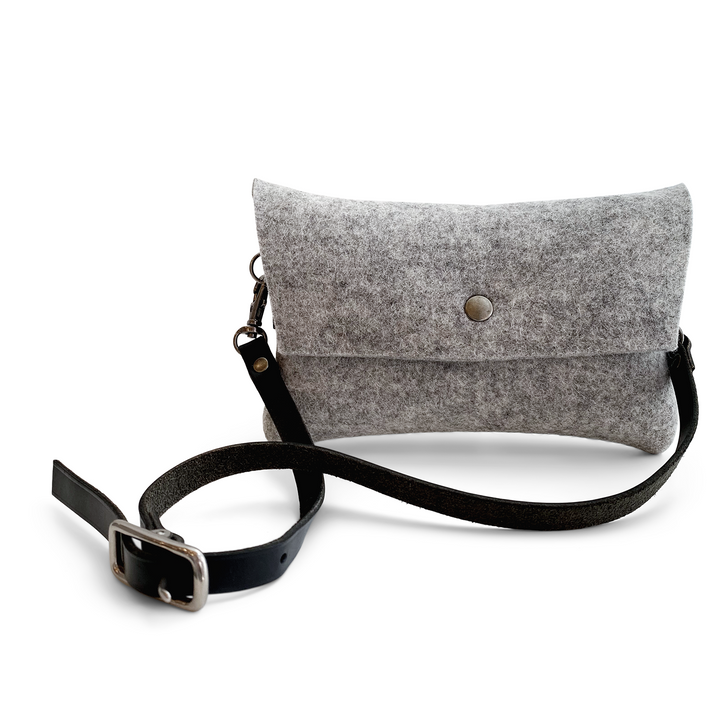 Tiny Clutch - Light Gray