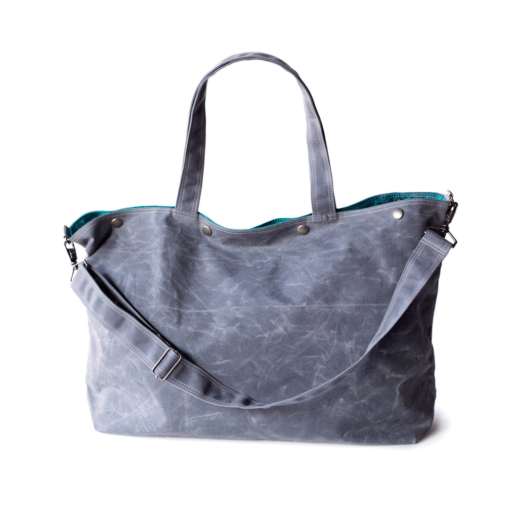 waxed canvas tote bag · The Porter in waxed canvas - five colors cd38d4dbf44eb