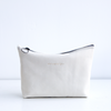Tiny Zip Pouch no.1 - LEATHER