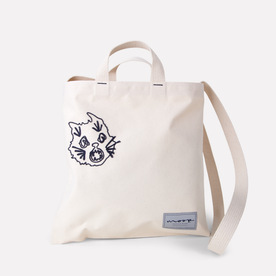 SCARED CAT SUPER TOTE