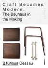 BOOK: Craft Becomes Modern: The Bauhaus in the Making