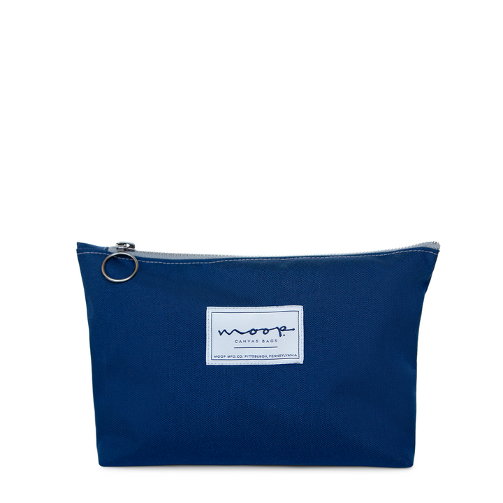 Tiny Zip Pouch no.1 - large - NAVY