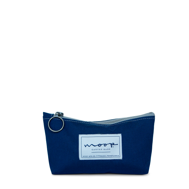 Tiny Zip Pouch no.2 SMALL - NAVY