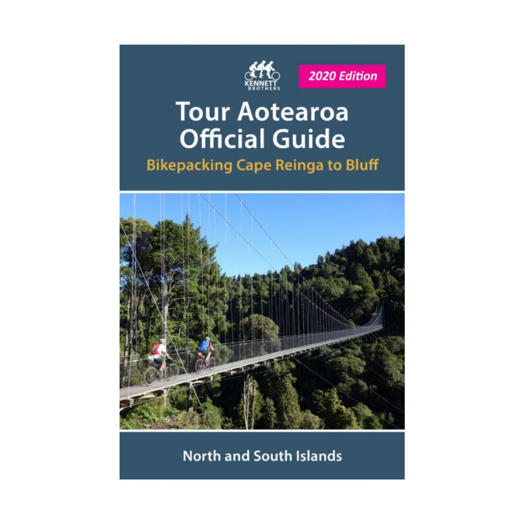 Tour Aotearoa Official Guide (Bikepacking)
