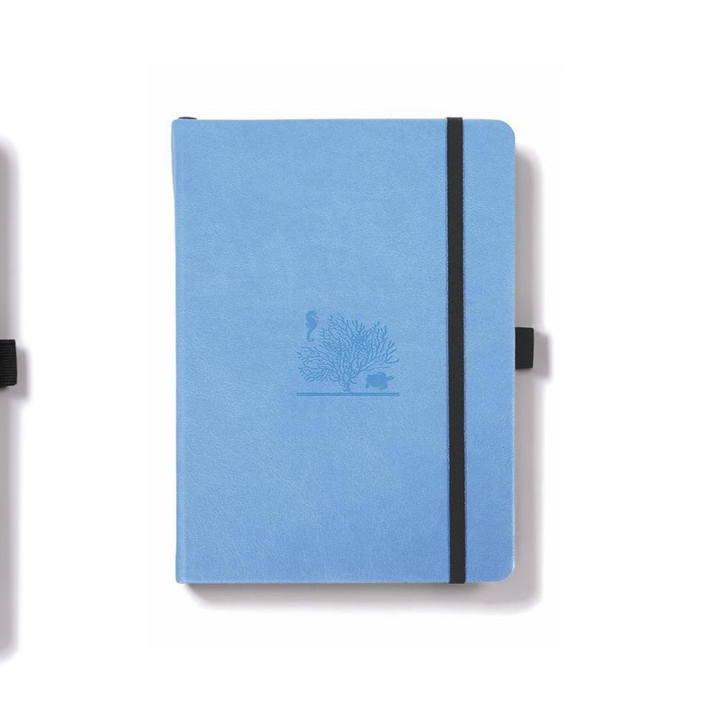 Dingbats Earth Notebook Sky Blue