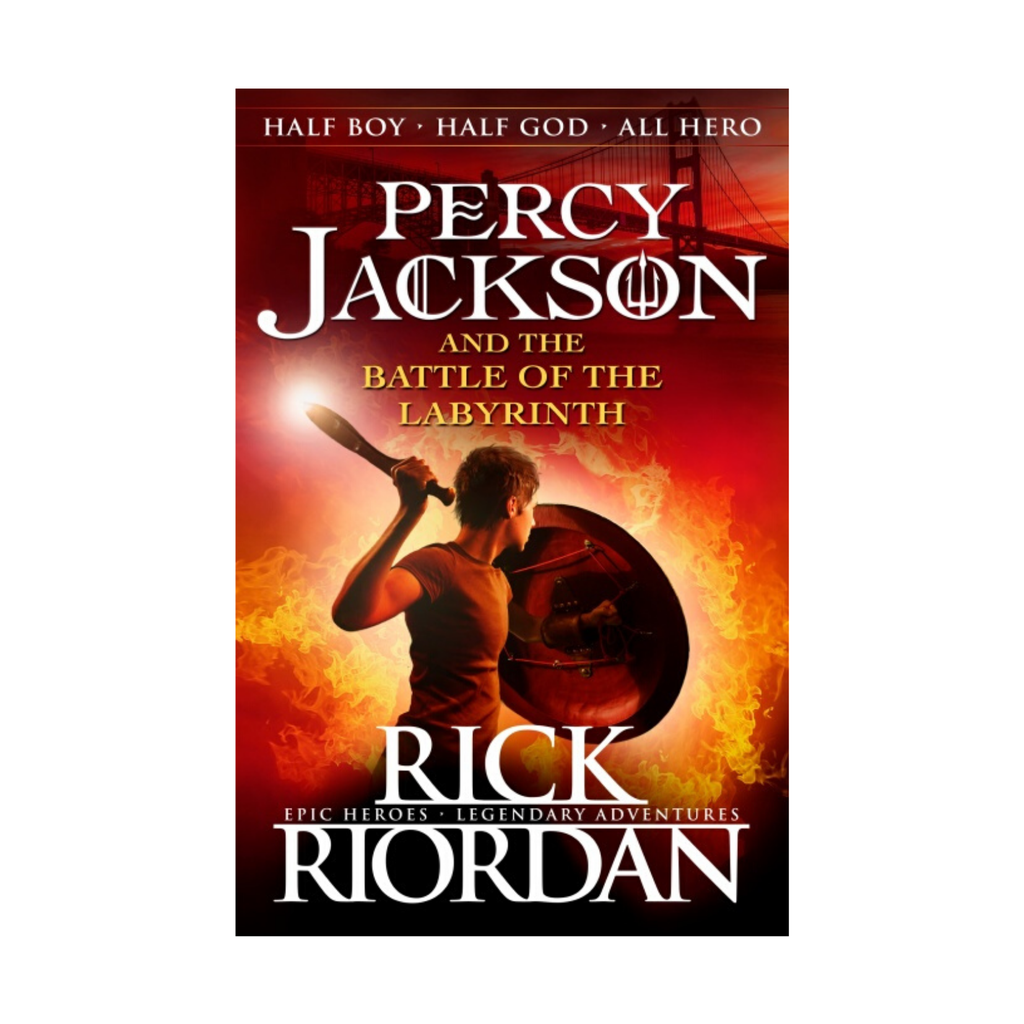 Percy Jackson and the Battle of the Labyrinth bk 4