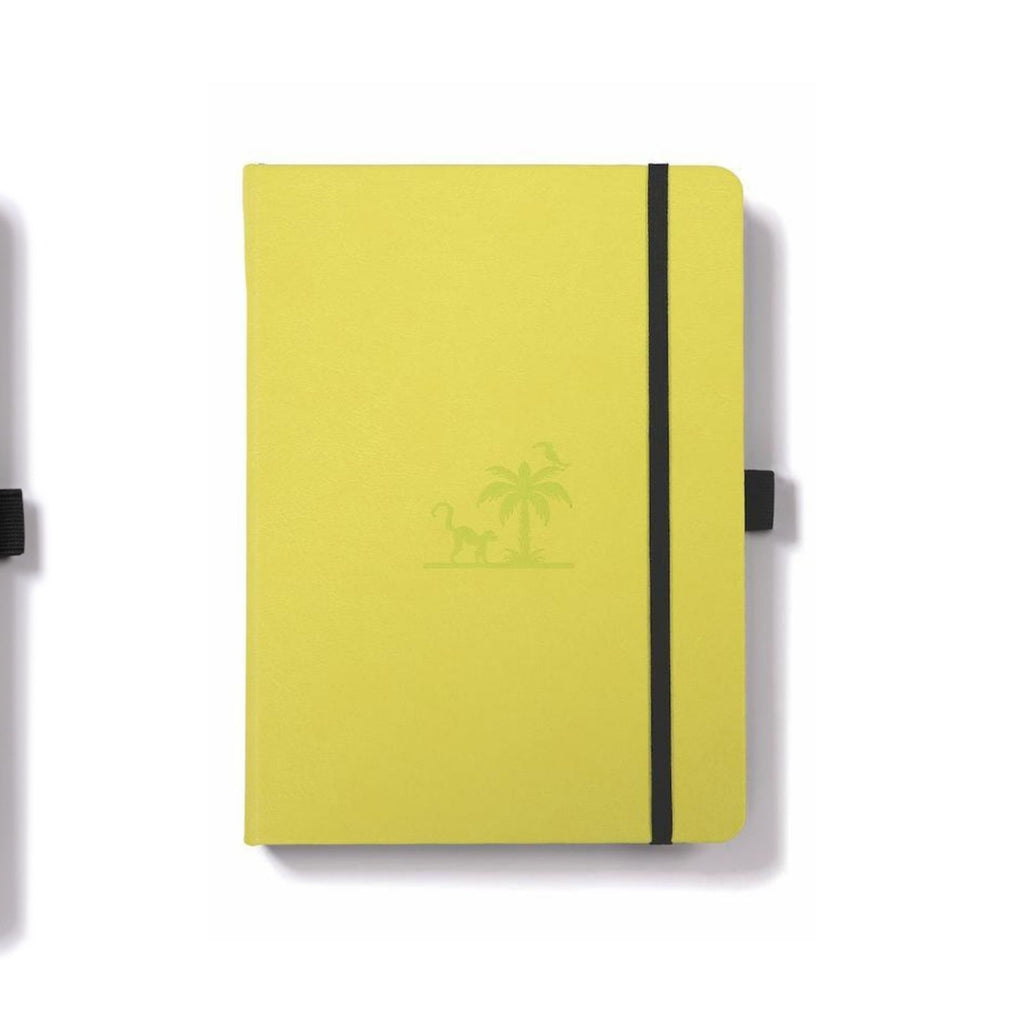 Dingbats Earth Notebook Lime