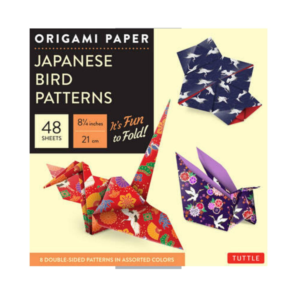 Origami Paper Japanese Bird Patterns