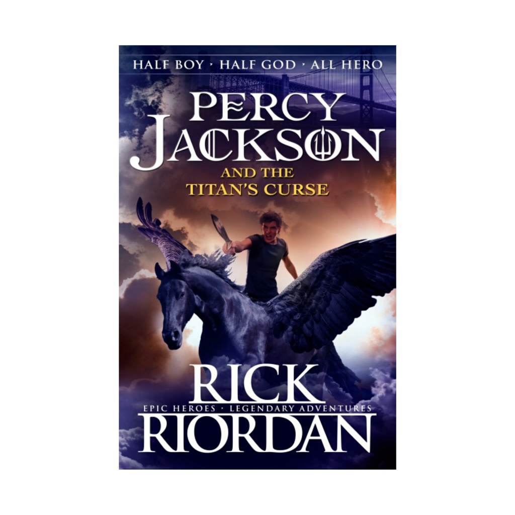 Percy Jackson and the Titan's Curse, book 3