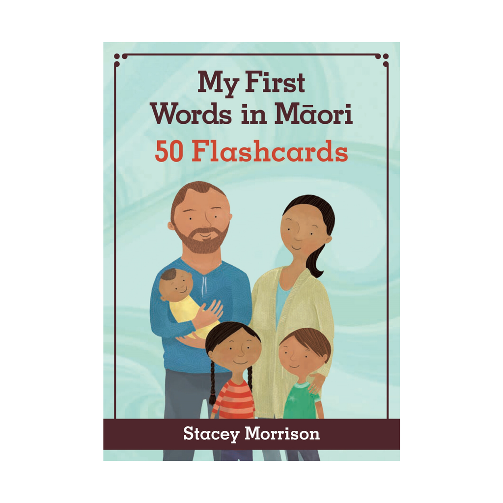 My First Words in Māori 50 Flashcards