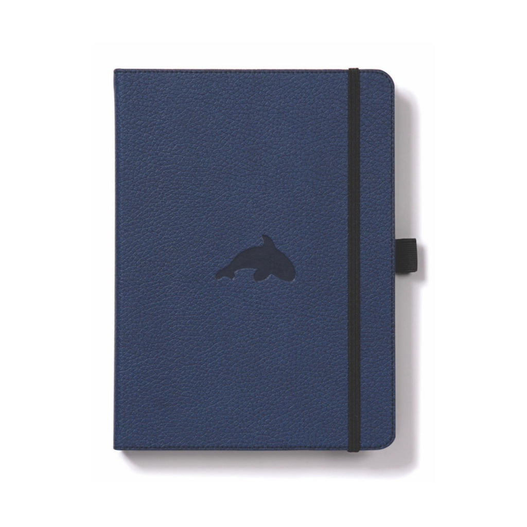 Dingbats Wildlife notebook Blue Whale Plain A5