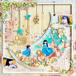 MP-58646 Layout Chipboard Twincle Star