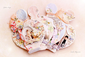 MP-58399 Perfume Bottle Chipboards