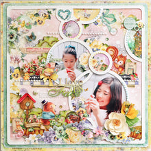 MP-58395 Layout Chipboard Bubble Frame