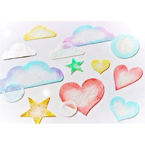 MP-58636 Clear Embellishments Clouds