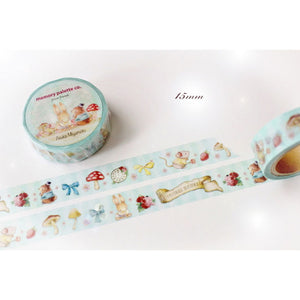 MP-58673 Forest Friends Washi Tape 15mm x 10m