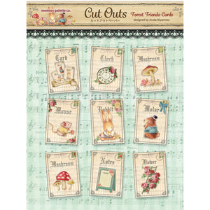 MP-58684 Forest Frineds Cut Outs Cards