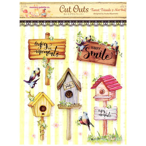MP-58839 Forest Friends 2 Cut Outs Nest Box