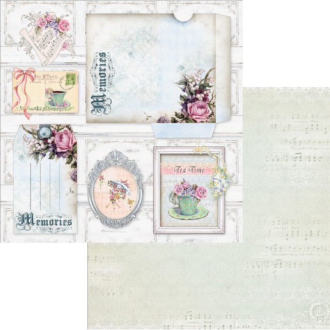 MP-58892 12x12 Blooming Everyday envelope