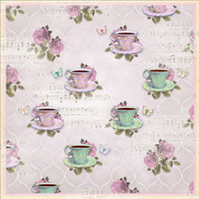 MP-58894 12x12 Blooming Everyday tea time