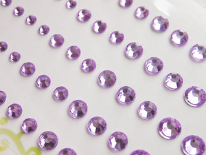MP-59131 Rhinestone Light Purple
