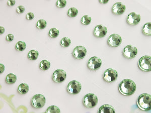 MP-59133 Rhinestone Light Green