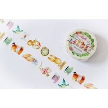 MP-60014 Forest Friends Washi Tape Characters 15mm x 10m