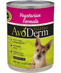 AvoDerm Natural Vegetarian Canned Dog Food