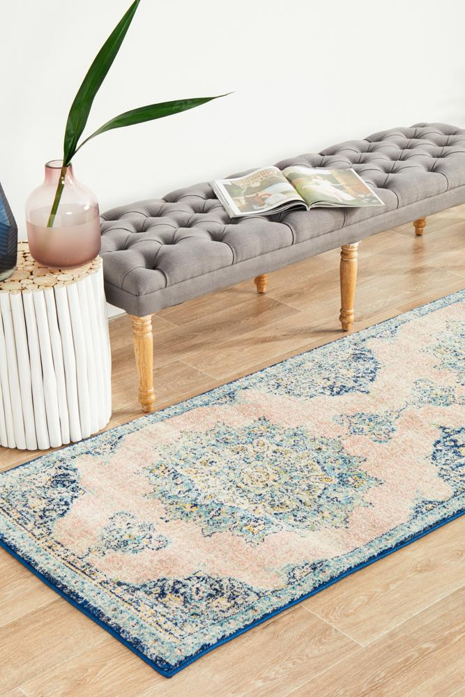 VIBE 706 Flamingo Runner Rug