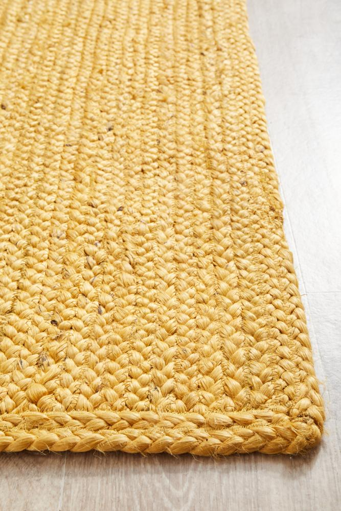 Bondi Yellow Runner Rug