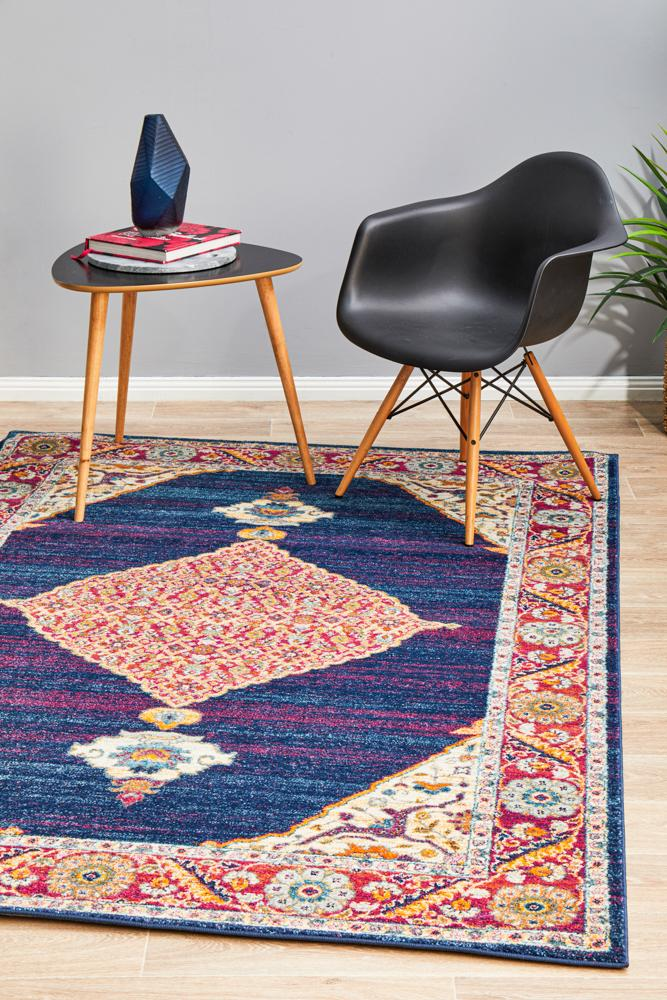 NILA 966 Royal Blue Rug