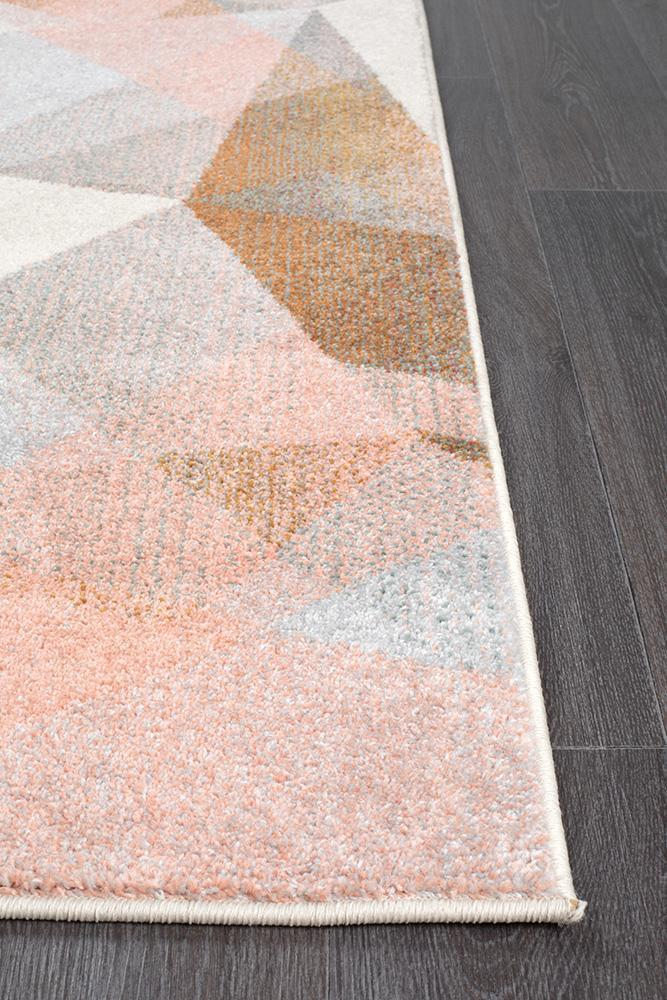 Dimensions Divinity Shatter Blush Modern Rug