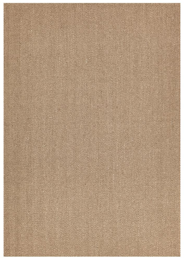 Eco Sisal Herringbone Brown Rug