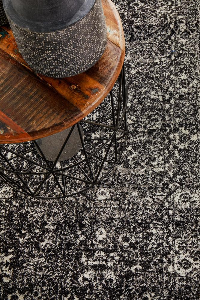 ENVI Estella Charcoal Transitional Runner Rug