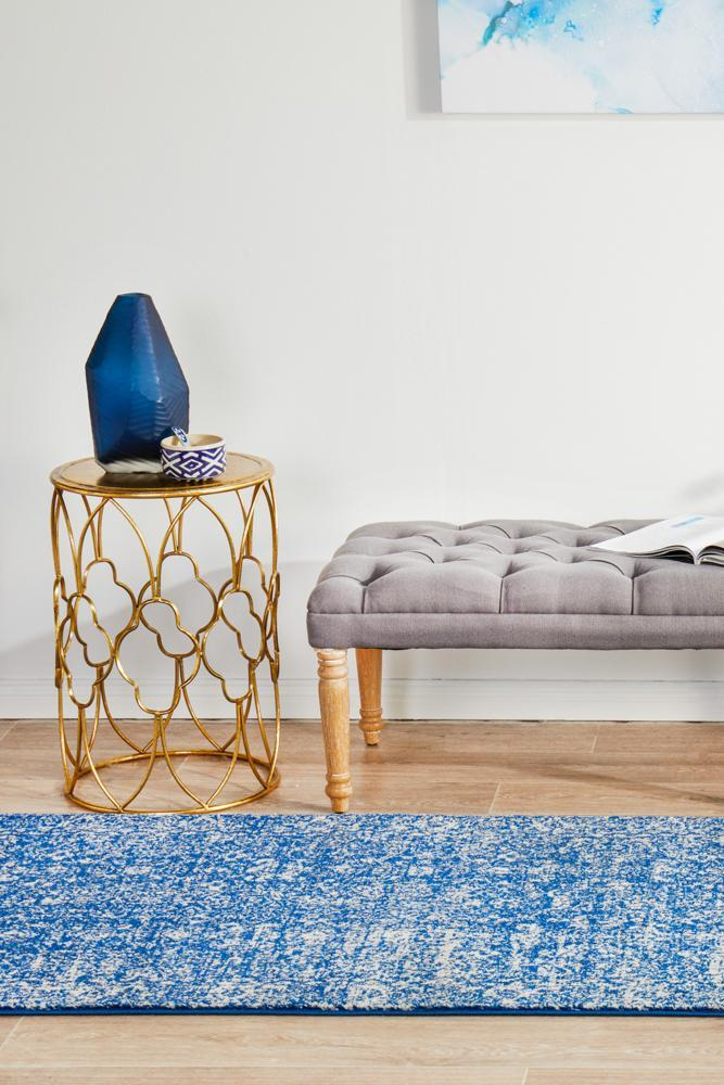 ENVI Oasis Navy Transitional Runner Rug