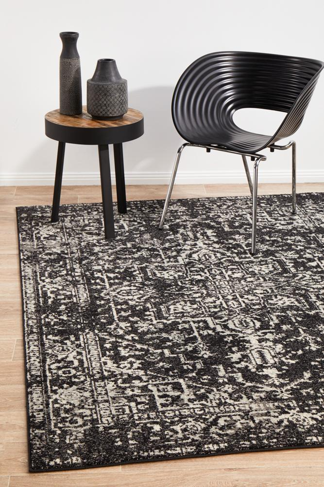 ENVI Scape Charcoal Transitional Rug