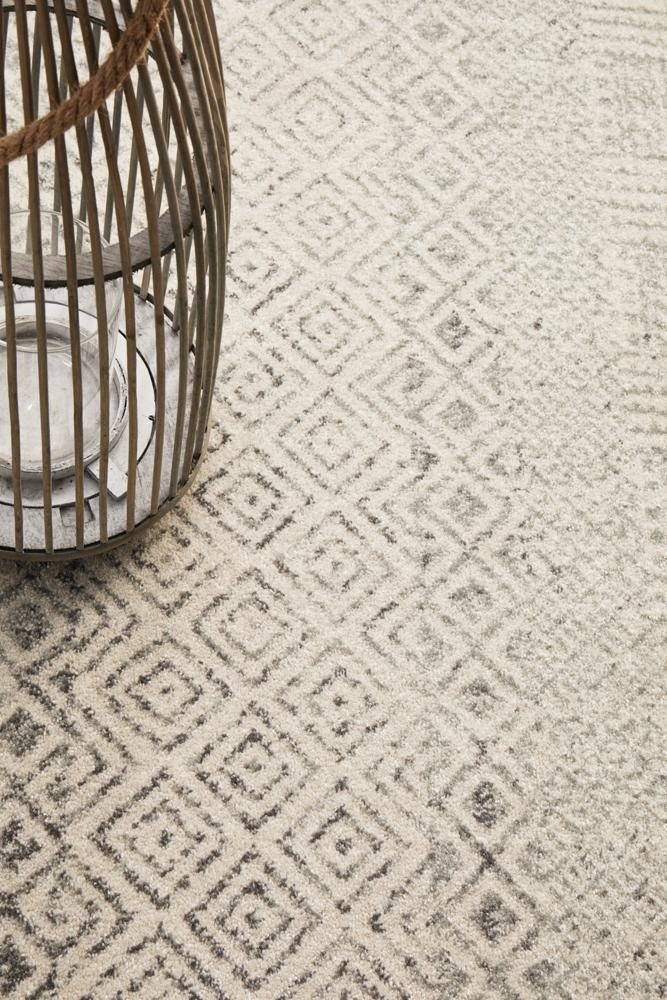 ENVI Diamond Grey Transitional Rug