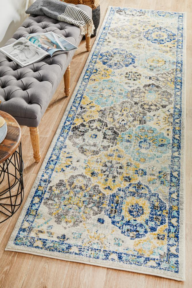 ENVI Poppy Multi Transitional Runner Rug
