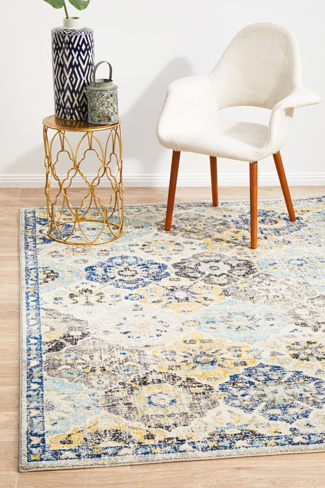 Evoke Poppy Multi Transitional Rug