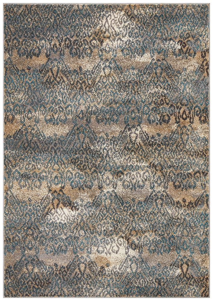 BENON Hanna Lace Blue Natural Rug